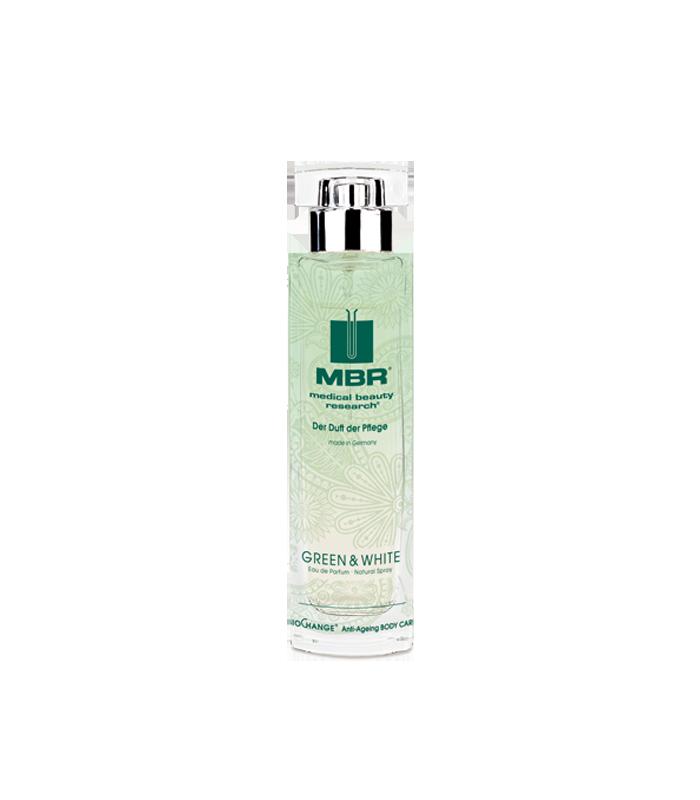 MBR Cosmetics - GREEN & WHITE EdP – BioChange® Anti-Ageing BODY CARE 100ml