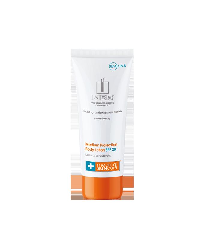 MBR Cosmetics - Medium Protection Body Lotion SPF 20 200ml